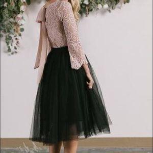 Esley Tulle Skirt